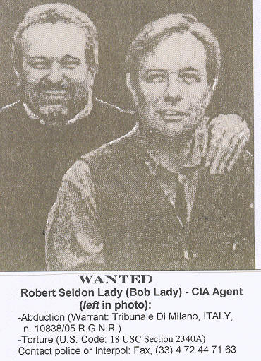 Fugitive Robert Lady